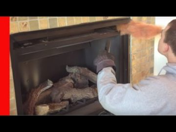 How to Clean a Direct Vent Fireplace